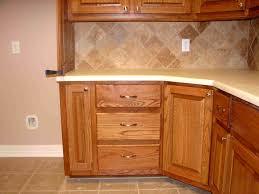 unfinished kitchen corner cabinet
