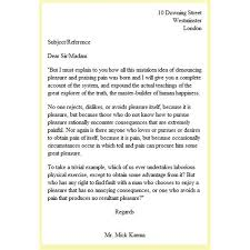how do you format a letter html explained the letter in html format