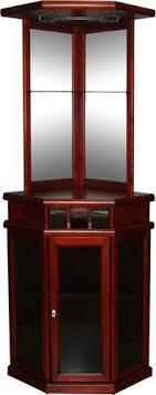 corner bars furniture. Exciting Corner Bar Cabinet Furniture Wonderful For Home Bars Wine Mahogany Finish 1