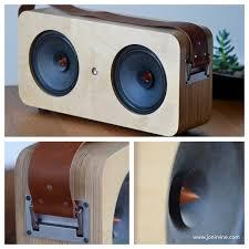 Diy Bluetooth Speaker Design Diy Boombox Designed By Jon Irvine Diyaudio Boombox