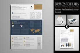 Executive Summary Template Word Extraordinary Business Plan Executive Summary Templat Design Bundles Template Pdf