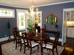blue dining room furniture. Luxuriant Blue Dining Room Victorian Wooden Varnished Sets On Floral Rug Plus Potted Plants Centerpieces Over Crystal Chandelier Also Painted Furniture