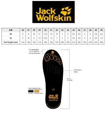 Jack Wolfskin Size Chart Womens Jack Wolfskin Kids Mountain Attack 3 Texapore Mid Toddler