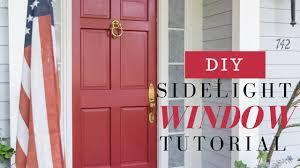 diy sidelight windows