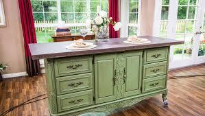 diy kitchen island from dresser. Ken\u0027s DIY Kitchen Island Diy From Dresser Hallmark Channel