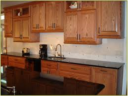 Kitchens With Uba Tuba Granite Uba Tuba Granite Countertop With Oak Cabinets Home Design Ideas
