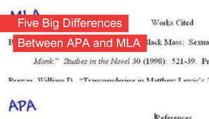 Love At First Cite Five Differences Between Mla And Apa Style