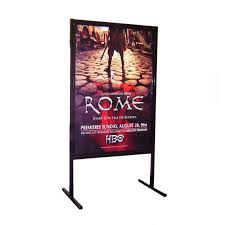 A Frame Display Stands Event Signage Poster Display Stands for Events Movie Premieres 89
