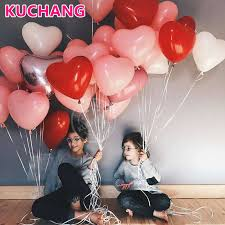 top 10 most popular <b>pink heart</b> shape balloons ideas and get free ...