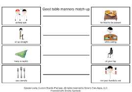 Teaching Good Table Manners for Better Social Skills during the ...
