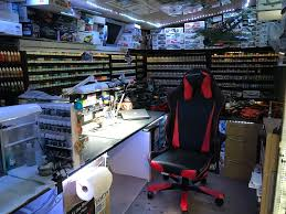 man cave. My Modelling Man Cave