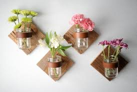 simple and elegant wall mount vase natural flower realistic 10
