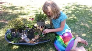 fairy gardening. A Fairy Garden Is Miniature Complete With Plants, Small Houses, Furniture And Of Course, Fairies! It\u0027s Tiny Space Created Tended Love Gardening