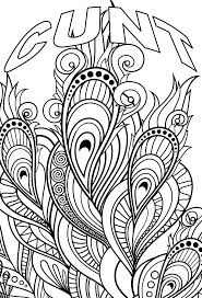 Cuss Word Coloring Pages Printable At Getdrawingscom Free For