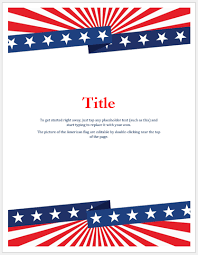 Memorial Day Flyer Templates For Ms Word Word Excel