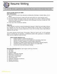 Top 10 Resume Objectives Fresh Graduate School Resume Objective
