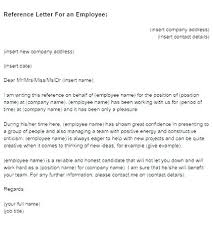 employment reference template employment reference letter template sample