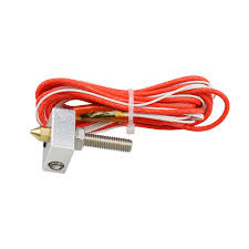 Hot End 3D Printer Kit MK8 0.4mm Nozzle Extruder Throat 12V 40W ...