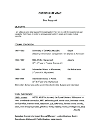 Bold Design What Is A Good Objective To Put On Resume 8 How To Get