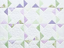 Pinwheel Crib Quilt -- marvelous ably made Amish Quilts from ... & ... Lavender Green and Cream Pinwheel Crib Quilt Photo 2 ... Adamdwight.com