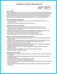 Automotive Technician Resume Writing A Concise Auto Technician Resume 44