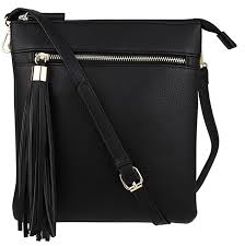 if you prefer a vertical style bag this b bretano cross purse is a great choice it s vegan has multiple zippers and comes in tons of diffe