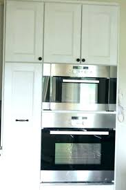 double oven cabinet. Oven Kitchen Cabinet Double Best Ideas About Magnificent Wall . S