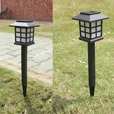 garden lamps. Plain Garden Waterproof LED Solar Garden Light Outdoor Landscape Stake Lamps In R