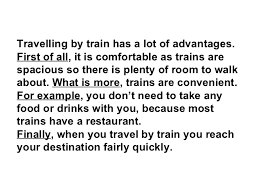 a for and against essay travelling