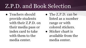 Zpd Range Chart Accelerated Reader Policies Procedures And General