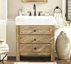 reclaimed bathroom furniture. Reclaimed Bathroom Furniture Mason Wood Single Sink Console Wax Pine Finish Pottery Barn