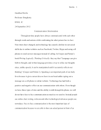 technology essays co technology and communication effects on life