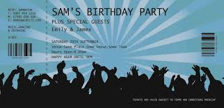 Party Ticket Invitations Wonderful Of Graduation Party Ticket Invitations Invite Grad 1