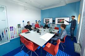 google office munich set. Google Office Munich Set. A Fully Functioning Gym Equipped With All The Latest Equipment, Set
