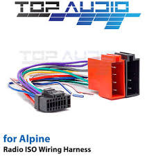 alpine ilx 007e iso wiring harness cable adaptor connector lead image is loading alpine ilx 007e iso wiring harness cable adaptor