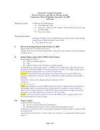 Corporate Meeting Minutes Examples Best Photos Of Corporate Meeting Minutes Template