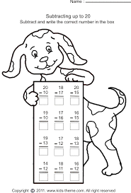 Free Math Worksheets Subtraction Worksheets for all | Download and ...