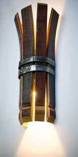wine barrel lighting. barrel sconce walsworth furnishings wine lighting