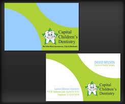 Wordings : Dental Business Appointment Cards With Dentist Business ...
