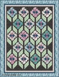 18 best Quilts - Downton Abbey images on Pinterest | Embroidery ... & Brides Garden flower quilt - sample made with Andover fabrics Downton Abbey  collection Adamdwight.com