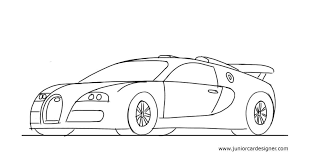 sport cars drawings. Fine Drawings How To Draw A Sports Car Bugatti Veyron  Junior Car Designer Throughout Sport Cars Drawings I