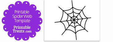 Spider Pattern Printable Printable Spider Web Template Printable Treats Com