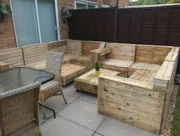 Patio From Pallets Outdoor Furniture Made With Pallets