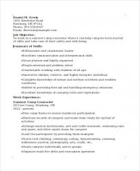 Download Resumes For Camp Counselors Hvac Cover Letter Sample