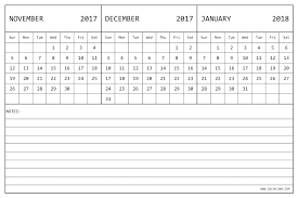 3 Month Calendar Template To March Printable In Excel With Monthly