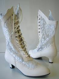 victorian granny lace high boots western saloon girl steampunk Wedding Granny Boots victorian granny lace high boots western saloon girl steampunk costume boots granny boots for wedding