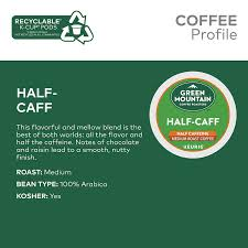 Here is our honest review of the maud's coffee pods. Green Mountain Coffee Roasters Half Caff Single Serve Keurig K Cup Pods Medium Roast Coffee 72 Count Amazon Com Grocery Gourmet Food