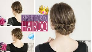 Occasion Hair Style prom or special occasion hairstyle pull through braid youtube 2558 by wearticles.com