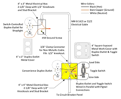 electrical wiring for gfci and 3 switches in bathroom home wiring a switched outlet wiring diagram – power to receptacle at Home Wiring Diagrams Switch Outlet