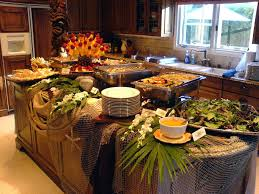 Buffet Table Decorations Ideas Best Decorating Buffet Images House Design Ideas Eventoslatinosus